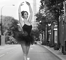 Street Ballerina  by Nigel Donald