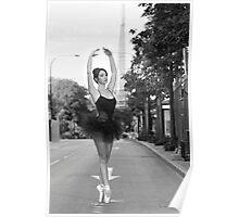 Street Ballerina  Poster