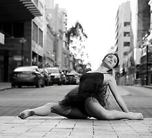 Street Ballerina 3 by Nigel Donald
