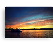 Bringing It Home Canvas Print