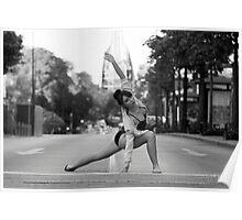 Street Ballerina 10 Poster