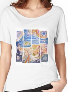"""Puzzle painting """"Lost"""" Women's Relaxed Fit T-Shirt"""