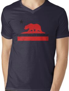Hacker Valley Republic Mens V-Neck T-Shirt