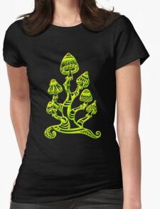 Magic mushrooms, Plants of the Gods, psychedelic, Trance Goa Psy  T-Shirt