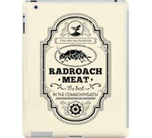 Drumlin Diner Radroach Meat (Black) iPad Case/Skin