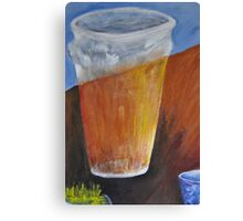 Beer and Coffee  Canvas Print