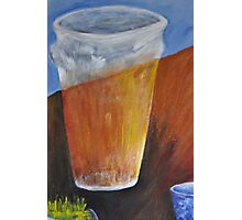 Beer and Coffee  Photographic Print