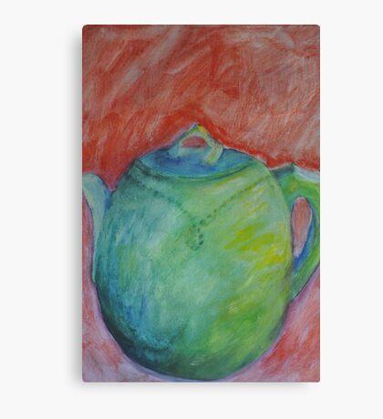 Teapot II Canvas Print
