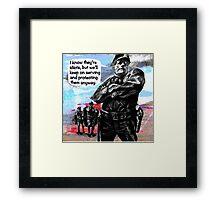 The Good Guys Framed Print