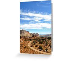 Capital Reef, Utah Greeting Card
