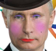 Putin on the Ritz Sticker
