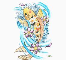 Koi Fish Design Womens T-Shirt