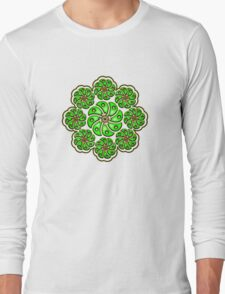 Peyote Cactus, psychedelic, Plant of the gods Long Sleeve T-Shirt