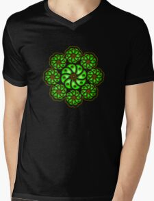 Peyote Cactus, psychedelic, Plant of the gods Mens V-Neck T-Shirt