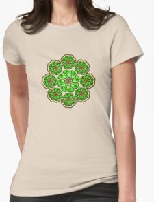 Peyote Cactus, psychedelic, Plant of the gods Womens Fitted T-Shirt
