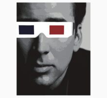 Nicolas Cage - 3D Glasses by is2b007