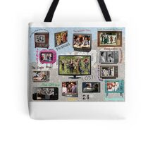 TV Shows through the years Tote Bag