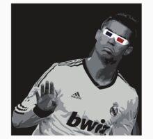 Cristiano Ronaldo - 3D Glasses T-Shirt