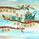 Happy Mothers Day by Lisa Frances Judd~QuirkyHappyArt
