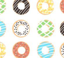 Donut Print Sticker