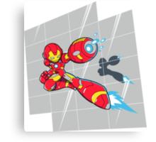 Iron Mega Man Canvas Print