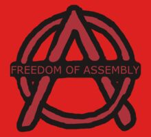 Freedom of Assembly Anarchy by rockabilby