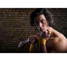 Malaysian boxer Photographic Print