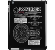 PICARDS ENTERPRISE NCC1701D  iPad Case/Skin