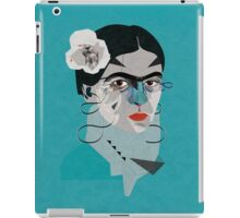 Frida Blue iPad Case/Skin