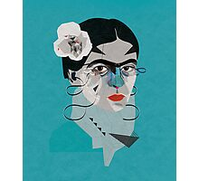 Frida Blue Photographic Print