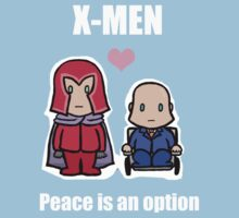 X-MEN - Peace is an option by elektro