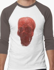 human skull Men's Baseball ¾ T-Shirt