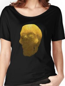 human skull Women's Relaxed Fit T-Shirt