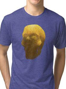 human skull Tri-blend T-Shirt