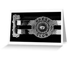 The Press Club Greeting Card