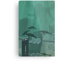 What The Whales Saw Metal Print