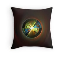 Alien Chamber Beneath the Earth Throw Pillow