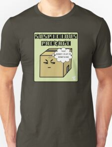 Suspicious Package  Unisex T-Shirt