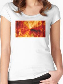 Reborn Women's Fitted Scoop T-Shirt
