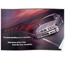 Best Handling Car in America Poster