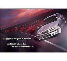 Best Handling Car in America Photographic Print