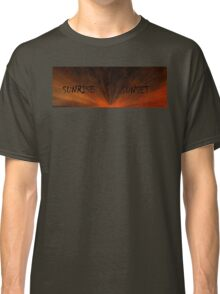 SUNRISE SUNSET Classic T-Shirt