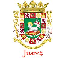 Juarez Shield of Puerto Rico Photographic Print