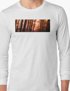 Wooden Embers Long Sleeve T-Shirt