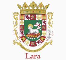 Lara Shield of Puerto Rico by William Martin