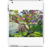 Pink blossoms at Ripponlea iPad Case/Skin