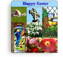 Happy Easter Collage  Metal Print