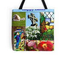 Happy Easter Collage  Tote Bag