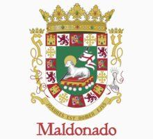 Maldonado Shield of Puerto Rico Kids Tee