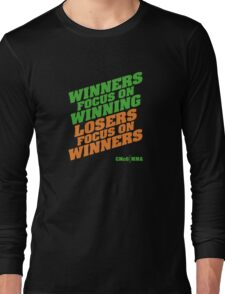 Conor McGregor - Quotes [Winners Tri] Long Sleeve T-Shirt